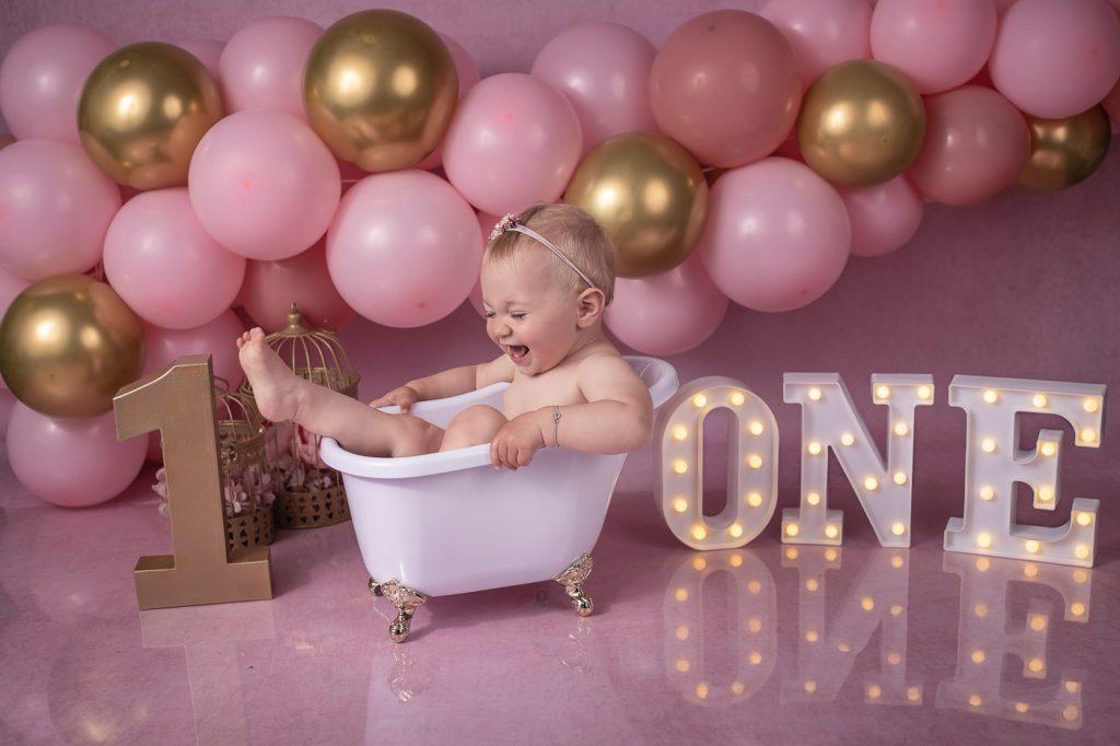 Smash The Cake Shooting, Kinderfotos; Geburtstag, 1 Jahr, Fernanda Cunha Fotografie Studio in Bad Segeberg für Lübeck,Neumünster, Bad Oldesloe, Kaltenkirchen und Hamburg